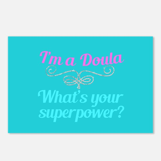 Super Doula Postcards (Package of 8)