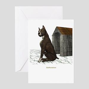 Staffordshire Greeting Card