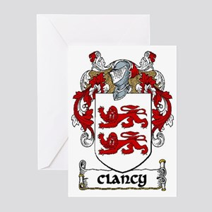 Clancy Coat of Arms Greeting Cards (Pk of 20)