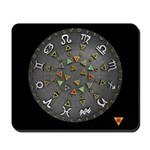 Astrological & Planetary aspects of Tarot Mousepad