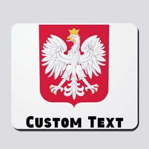 Poland Coat Of Arms Mousepad