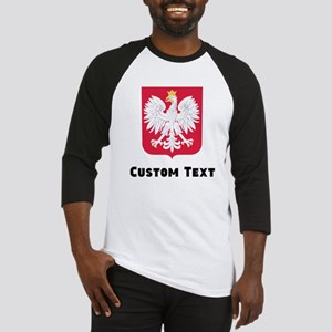 Poland Coat Of Arms Baseball Jersey