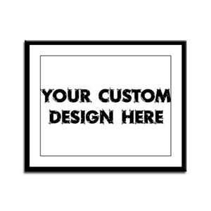 Your Design Framed Panel Print