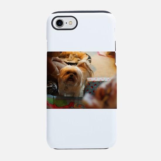 Koko blond Lhasa apso among iPhone 8/7 Tough Case