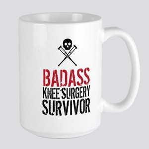 Badass Knee Surgery Survivor Mugs