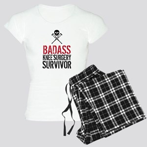 Badass Knee Surgery Survivo Women's Light Pajamas
