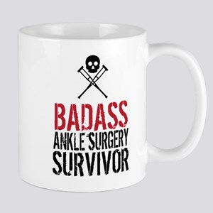 Badass Ankle Surgery Survivor Mugs