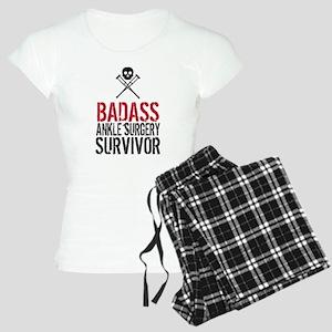 Badass Ankle Surgery Surviv Women's Light Pajamas