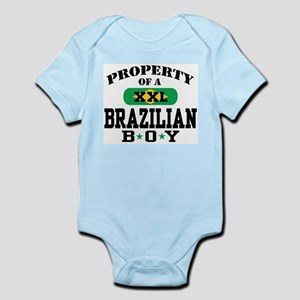 Property of a Brazilian Boy Infant Bodysuit