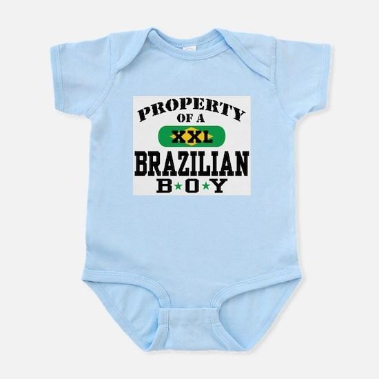 Property of a Brazilian Boy Infant Bodysuit