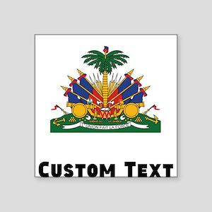 Haiti Coat Of Arms Sticker