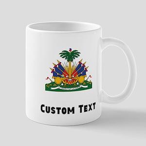 Haiti Coat Of Arms Mugs