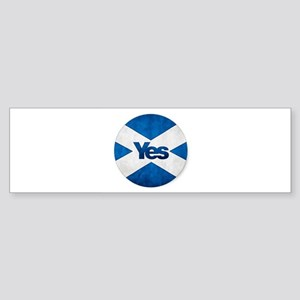 Yes to Independent Scotland 'Saor A Bumper Sticker