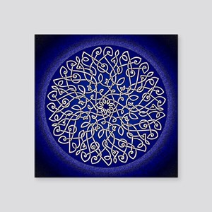 Blue Celtic Burst Sticker