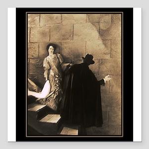 To the Lair~Classic Phantom of the Opera Square Ca