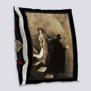 To the Lair~Classic Phantom of the Opera Burlap Th