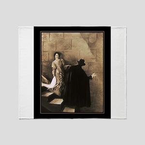 To the Lair~Classic Phantom of the Opera Throw Bla