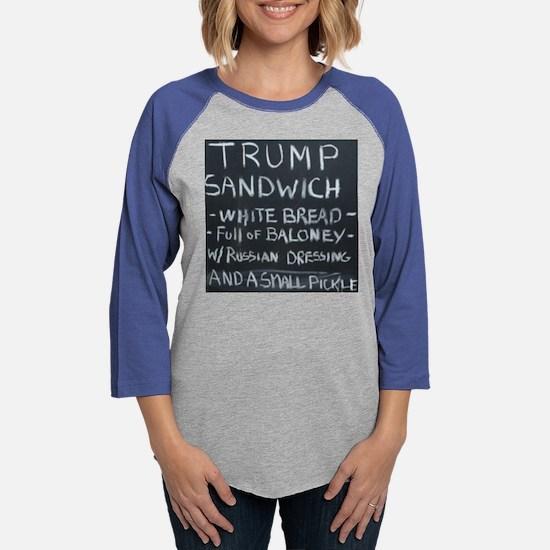 Trump Sandwich Long Sleeve T-Shirt
