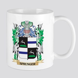 Sprunger Coat of Arms - Family Crest Mugs