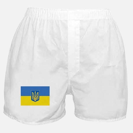 Funny Flag of ukraine Boxer Shorts
