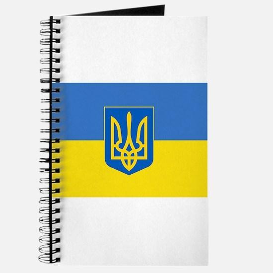 Ukrainian flag, trizub Journal