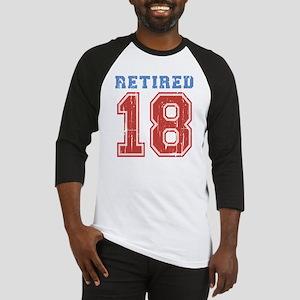 Retired 2018 Varsity Baseball Jersey