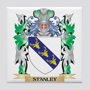 Stanley Coat of Arms - Family Crest Tile Coaster