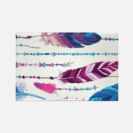 Tribal Feathers Magnets