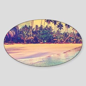 Tropical Island Sticker