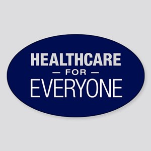 Healthcare For Everyone Sticker (oval)