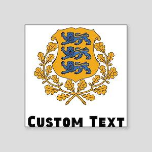 Estonia Coat Of Arms Sticker