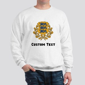 Estonia Coat Of Arms Sweatshirt