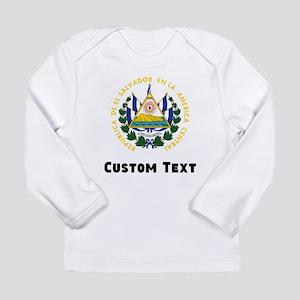 El Salvador Coat Of Arms Long Sleeve T-Shirt
