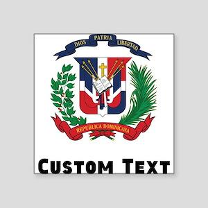 Dominican Republic Coat Of Arms Sticker