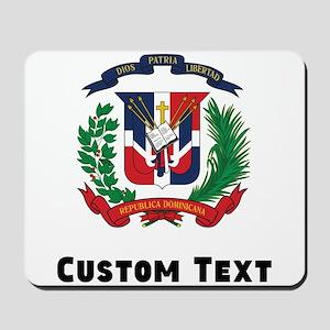 Dominican Republic Coat Of Arms Mousepad