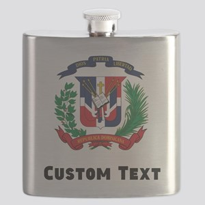 Dominican Republic Coat Of Arms Flask