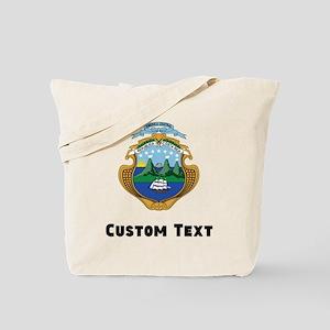 Costa Rica Coat Of Arms Tote Bag