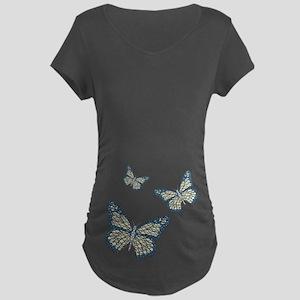 Jewish Monarch Maternity Dark T-Shirt