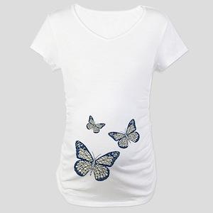 Jewish Monarch Maternity T-Shirt