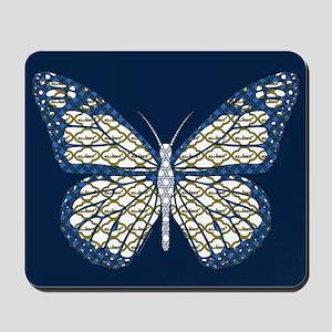 Jewish Monarch Mousepad