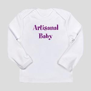 Artisanal Baby (purple, top) Long Sleeve T-Shirt