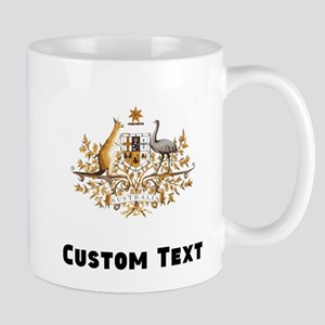 Australia Coat Of Arms Mugs