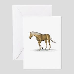 Horse (Palomino) Greeting Card