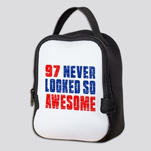 97 Never looked So Much Awesome Neoprene Lunch Bag