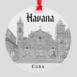 La Habana Round Ornament