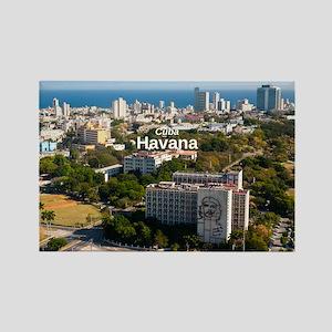 La Habana Rectangle Magnet