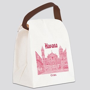 La Habana Canvas Lunch Bag