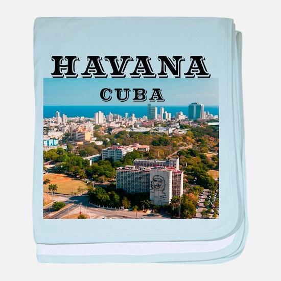La Habana baby blanket