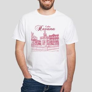 La Habana White T-Shirt