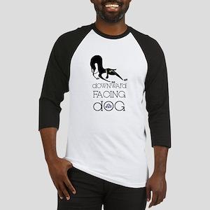Downward Facing Dog Yoga Baseball Jersey